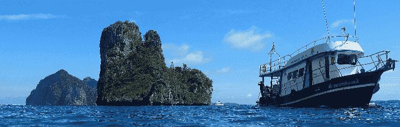 Dykning i Phi Phi