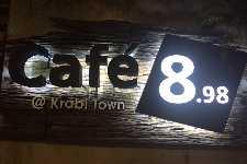Cafe 8.98 at Krabi Town